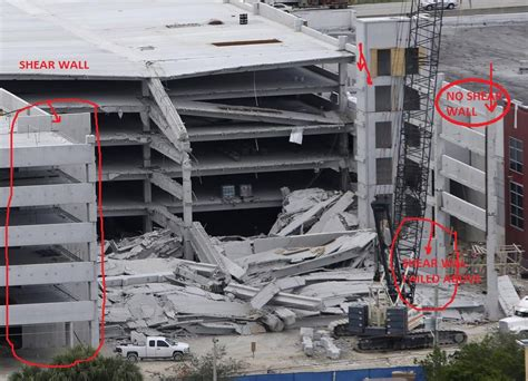 Precast Garage Construction by Parking Garage In Florida Collapse Cause Forensics