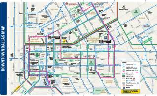 pin downtown dallas map on