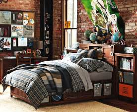 Teen Boys Bedroom Decorating Ideas Plaid Beadboard Bedroom For Teenage Boys