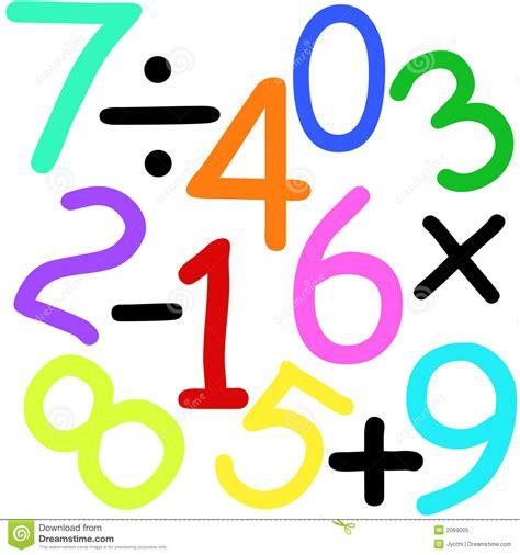 imagenes de operacion matematicas aantallen en tekens stock illustratie illustratie