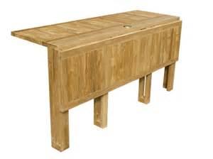 telemaco table de jardin rectangulaire by il giardino di legno