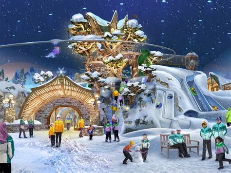 worlds largest snow park  open  abu dhabi
