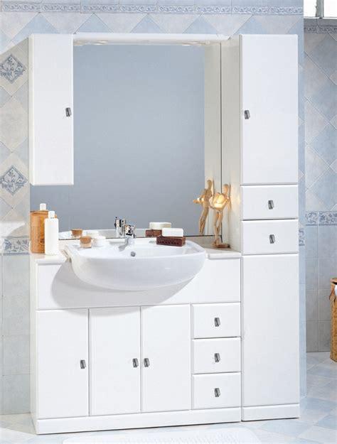 mobile bagno lavandino mobile bagno cleo cm 100 30 con lavabo semincasso bh