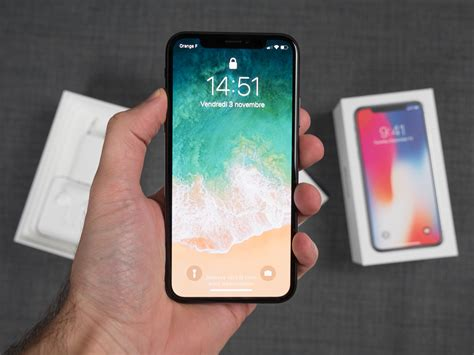 L Iphone X by Prise En De L Iphone X Enfin Dans L Air Du Temps Frandroid