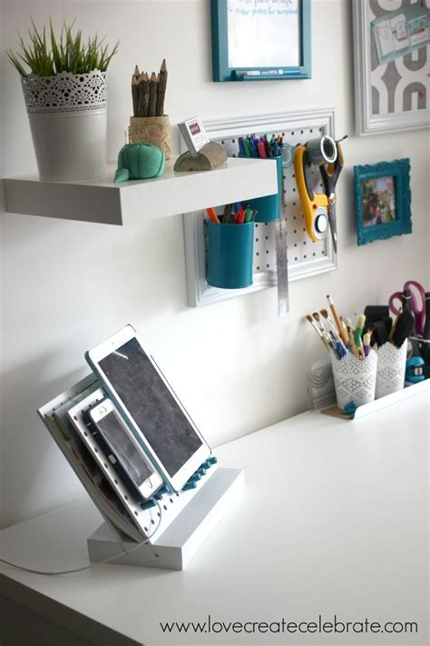 Organize Work Desk 15 Ways To Organize Every Nook With Pegboard Hometalk