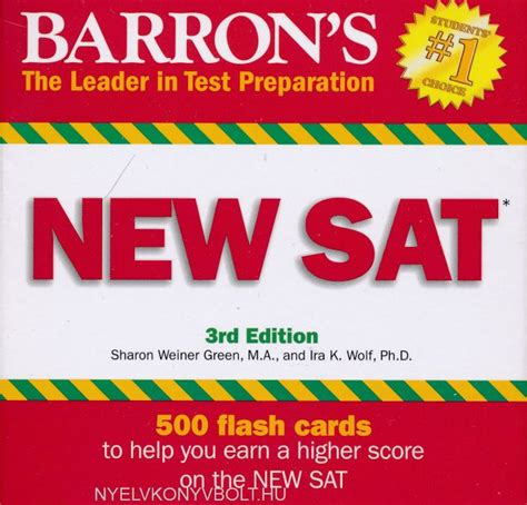 barron s sat 29th edition with bonus tests barron s new sat flash cards 3rd edition 500 flash cards