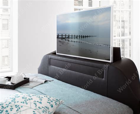 bed with tv kaydian maximus tv bed sound bar the world of beds