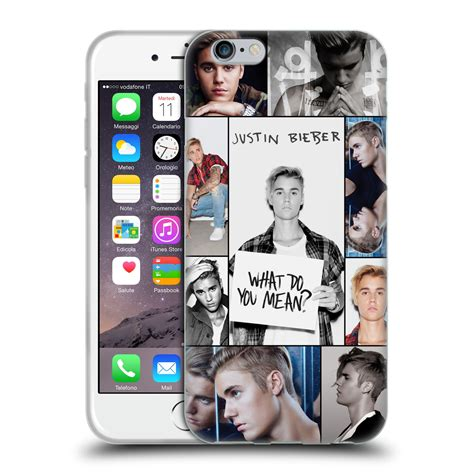 Soft Iphone 44s55s66s66s Sam official justin bieber key soft gel for apple iphone phones