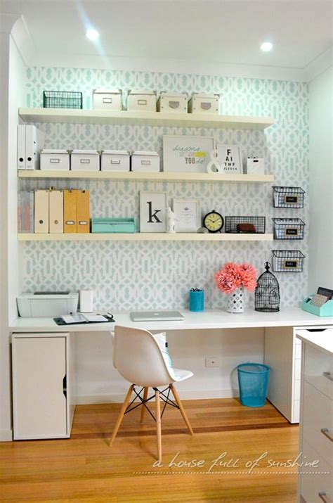 Desk Shelving Ideas Offices Of And Spaces On Pinterest