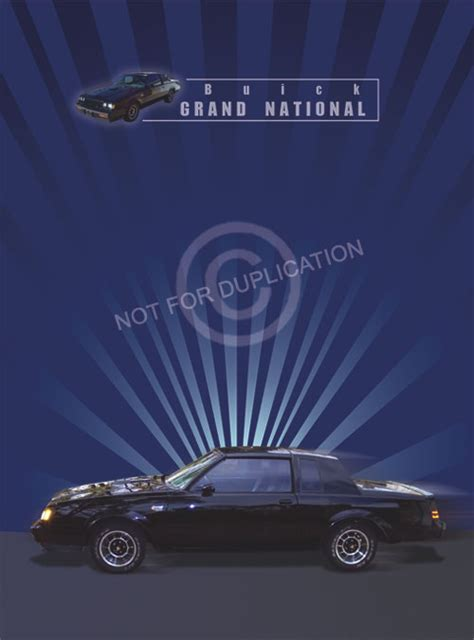 buick grand national poster more buick grand national posters