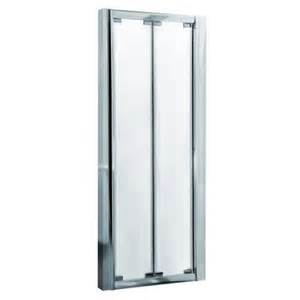 Bifold Glass Shower Door Bi Fold Shower Door 8mm Glass 900 1200mm Image 1