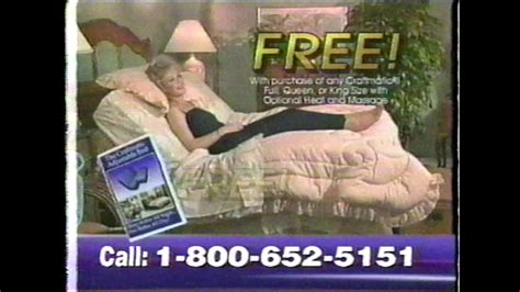 the craftmatic adjustable bed commercial 2002