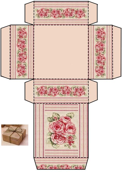 Box Template Printables