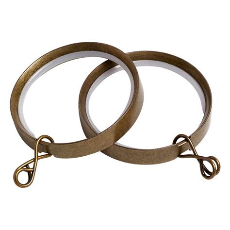 antique brass curtain rings antique brass poles apart rings free uk delivery