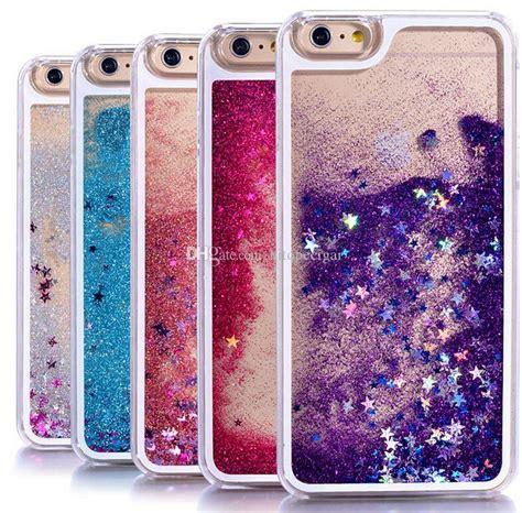 Metal Glitter Xiaomi Redmi 4a Hardcase Gliter transparent phone cases glitter liquid phone back cover for iphone 5 6 6s