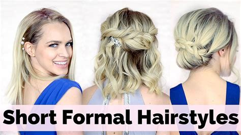 prom hairstyles for short hair prom hairstyles for short