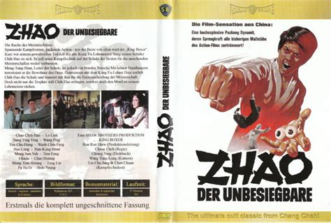 Zhao Der Unbesiegbare Chang Cheh Shaw Brothers Klassiker Kaufen Filmundo Zhao Der Unbesiegbare Chang Cheh Shaw Brothers Klassiker Kaufen Filmundo