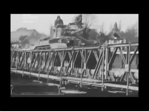 a34 comet tank 11th armoured division crossing the river