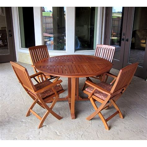 teak patio dining sets sets teak eucalyptus shorea kapur patio deck furniture