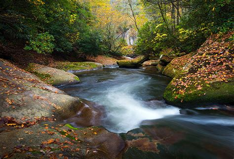 river landscaping carolina appalachian autumn river landscape photography asheville nc