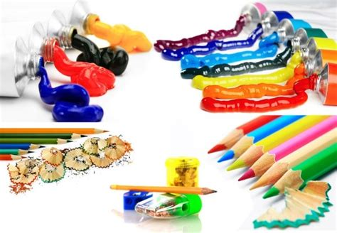 colored definition color pencil and paint highdefinition picture 5p free