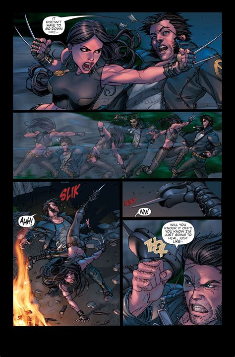 X-23 vs. Wolverine X 23 Comic