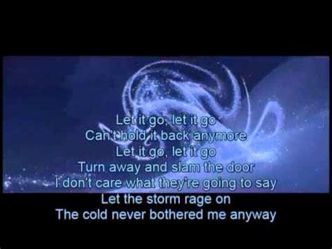 where does st go let it go instrumental w lyrics frozen youtube