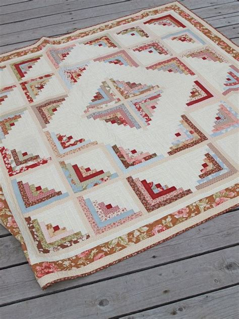 25 unique log cabin quilts ideas on patchwork