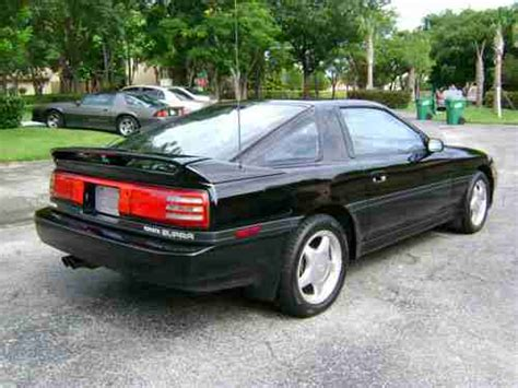 1991 Toyota Supra For Sale Purchase Used 1991 Toyota Supra Turbo Targa 5spd Blk