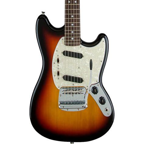 mustang guitar fender 65 mustang electric guitar 3 color sunburst