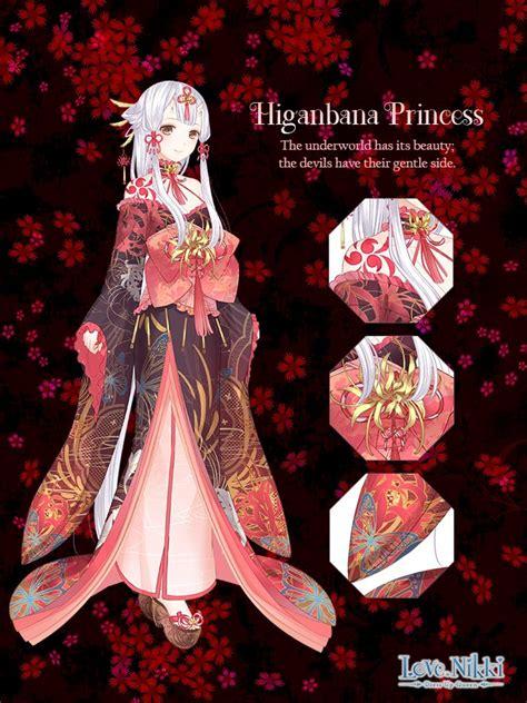 higanbana princess love nikki dress  queen wiki fandom