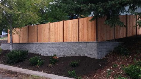 Dramatic Facelift With New Fence And Retaining Wall Ajb Garden Wall Fencing