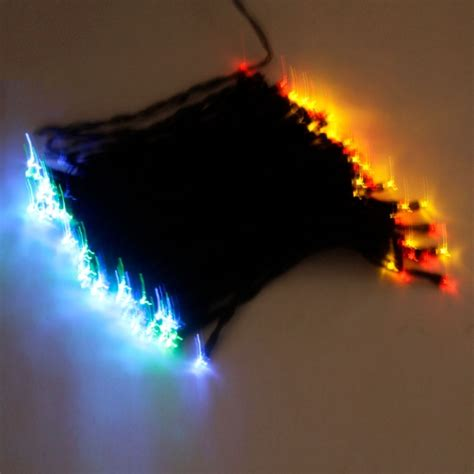 100 Led Solar Neon Light Rgb String L Festival Deco 100 Led Solar Lights