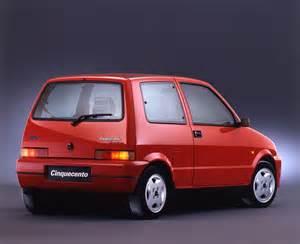 Fiat Cinquencento Fiat Cinquecento Sporting 3 Ran When Parked