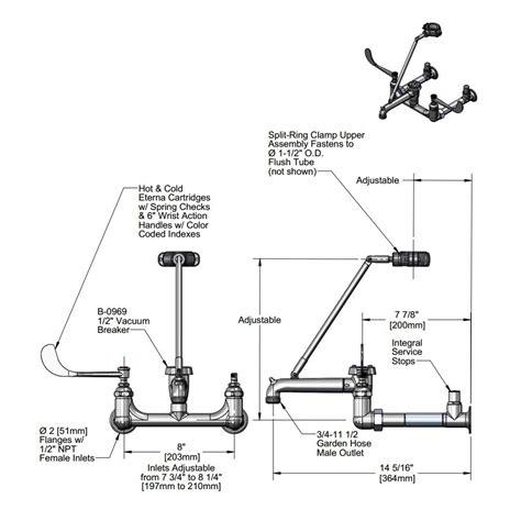 mop sink faucet height mop sink faucet height code sink ideas