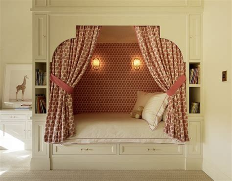 Bed Nook by Bed Alcove Design Ideas