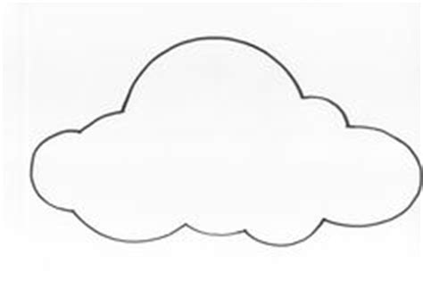 diy paper cloud mobile tutorial cloud template cloud