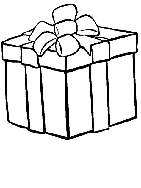 Christmas Gifts And Toys Coloring Pages Gifts Coloring Pages