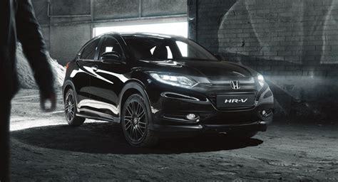 Honda Hrv Black by Honda Introduces Hr V Black Edition In The Uk From 163 25 000