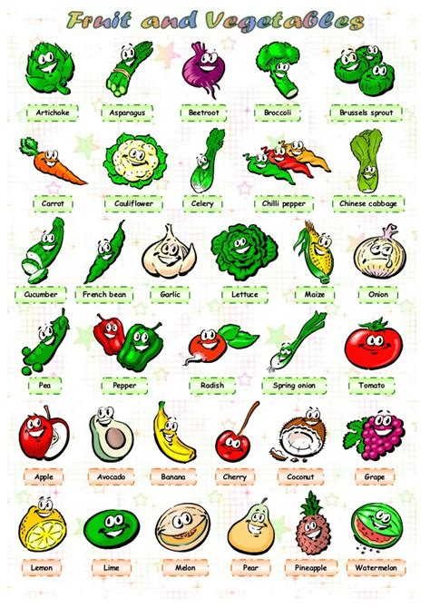 printable vegetable quiz vegetables names in english with pictures