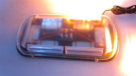 blue led mini light bar blue led mini warning light bar for truck car