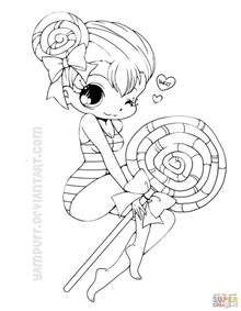 chibi coloring pages chibi lollipop coloring page free printable