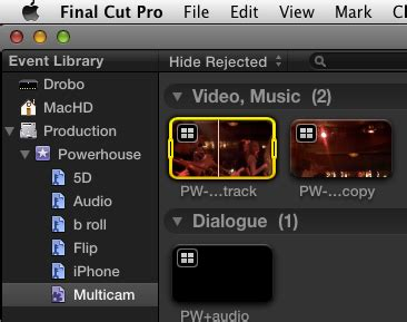 final cut pro multicam marrying iphone flip and 5d footage in final cut pro x