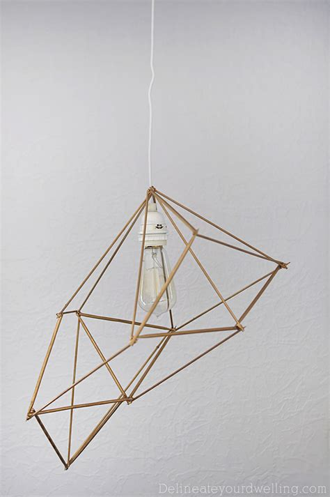 geometric pattern hanging light 8 diy pendant ls with highly unusual designs
