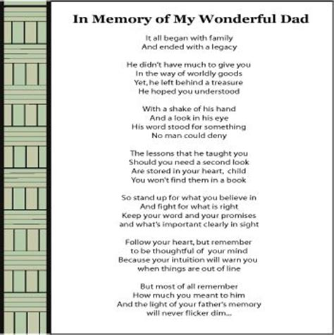 memory poem template 69 best images about on funeral etiquette