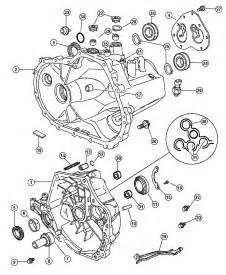 2007 Dodge Caliber Parts 2007 Dodge Caliber Transaxle Related Parts