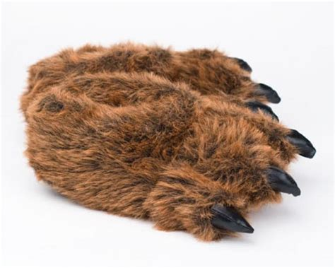 Grizzly Bear Paw Slippers Grizzly Bear Slipper Bear Paw Slippers