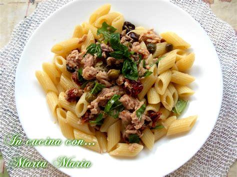 cucina fredda pasta fredda mediterranea ricetta veloce in cucina con