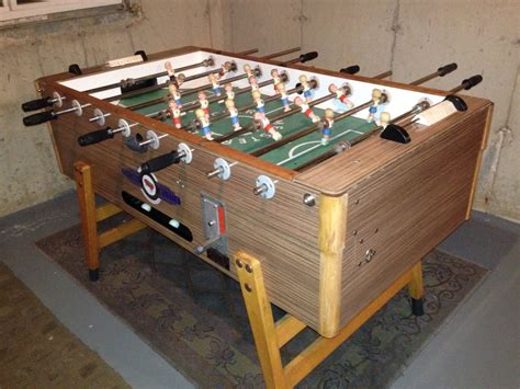 light up foosball table going 2 foosball table restoration