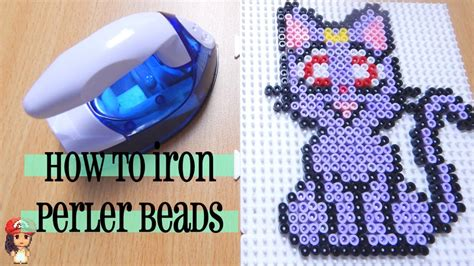How To Iron Perler Perfectly Tutorial